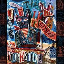 JAMES YORKSTON - THE ROUTE TO THE HARMONIUM [CD]