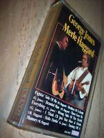 1995 George Jones Merle Haggard Cassette