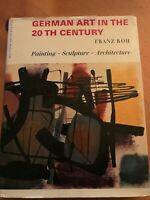 Rare Book German Art In The 20th Century Franz Roh Painting Sculpture Architect
