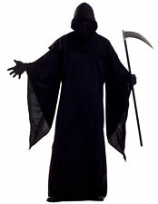 Horror Robe Grim Reaper Evil Ghost Death Halloween Men Costume