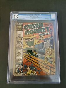 GREEN HORNET COMICS #7 CGC 1.0 ORIGIN OF ZEBRA GOLDEN AGE