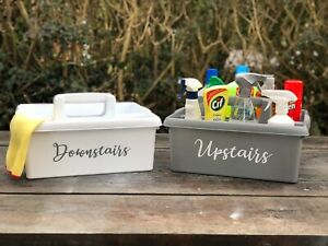 Personalised Carry Cleaning Caddy/ Personalised Storage