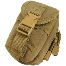 Condor i-Pouch Padded Combat Gadget Pocket Compact MOLLE Gear Case Coyote Brown