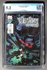 VENOM DARK ORIGIN #1 Limited Series Spider-Man 2008 Mary Brock MOVIE CGC NM- 9.2