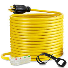 10awg Generator Adapter Extension Cord 7m L14 30p To Four 5 20r Generator Cable