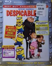 Despicable Me (Blu-ray/DVD, 2011) EXCELLENT / MINT CONDITION / FREE SHIPPING