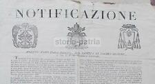 TOSTI_VANNINI_CARTE DA GIOCO_DISEGNI_BOLLI_TAROCCHI_MINCHIATE_CARTE ESTERE_1837
