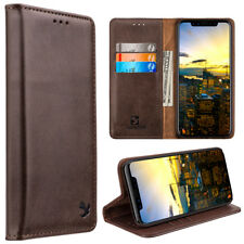 20a134e00ef3f4 Luxmo Luxury Gentlemen Magnetic Flip Leather Wallet Case
