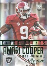 2015 Prestige Extra Points Green #202 Amari Cooper Oakland Raiders