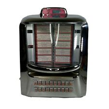 JukeMaster 100 by Tyrell retro table top juke box, diner juke box. Complete