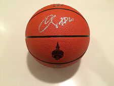 2016 NBA All Star Basketball Mini Spalding Basketball Signed DeMar DeRozan Auto