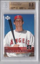 2003 Prospect Premieres Brandon Wood Rookie Graded BGS 9.5