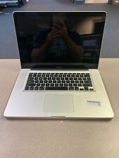 """Apple MacBook Pro 15"""" (2011) i7 2.2Ghz 4GB 500GB - No Power"""