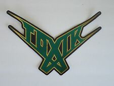 TOXIK EMBROIDERED BACK PATCH