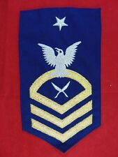 U.S. Coast Guard Senior Chief Petty Officer Yeoman Sleeve Rating Patch
