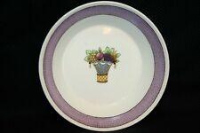 """Vintage Wedgwood Directoire PURPLE Band Bowl 5 1/8"""" Etruria England China"""
