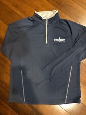 Bernzomatic Size L Charles River Apparel Quarter Zip Pullover