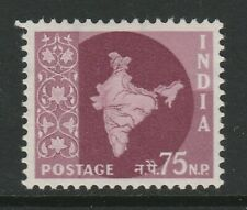 India 1957 75np Definitive SG 385 Mnh/ Unmounted mint.