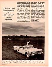 1960 CHEVROLET IMPALA SUPER TURBO-FIRE V8 ~ ORIGINAL PRINT AD