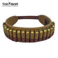 Tourbon Leder 12GA Patronenhalter Gewehrschaft Munitionsetui Sonderangebot