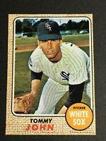 F62650  1968 Topps #72 Tommy John WHITE SOX DODGERS