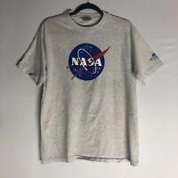 Vintage 90s NASA T-Shirt Size Medium  / Gray