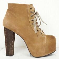 Wie neu! JEFFREY CAMPBELL ♫ Damen Plateau Stiefeletten Gr. 37 Leder Schuhe