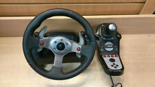 Logitech G25 Racing Wheel w/ Stick Shift Gear Shifter PC, PS2, PS3 Compatibility