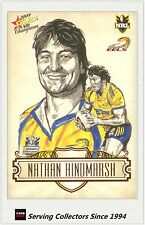 2009 Select NRL Champions Star Sketch Card SK19 Nathan Hindmarsh (Eels)