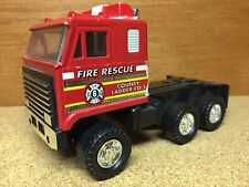 Remco 1987 Fire And Rescue Fire Truck Diecast Toy Car