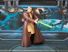 Star Wars Figura 2002 Saga Colección Qui-Gon Yinn Jedi Master