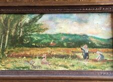 Hübsches altes Gemälde schwäbische Landschaft