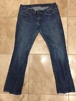 Peoples Liberation Jeans Bootcut Women Size 30 X 28 Blue
