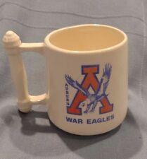 "Vintage Auburn ""War Eagles"" Mug, Rare Logo, Excellent Condition"