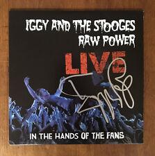 GFA The Stooges * IGGY POP * Signed New Record Album PROOF P1 COA