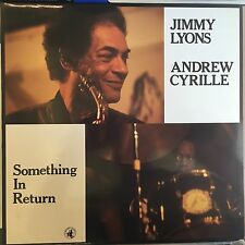 Jimmy Lyons-Andrew Cyrille-Something In Return-Black Saint 120 125 1-NM