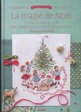 Livre - La magie de Noël au point de croix - Véronique Enginger