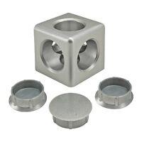 80//20 Inc T-Slot Aluminum 12 Hole Wide Inside Corner Bracket 10 Series #4016 N