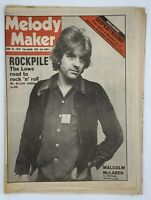 Melody Maker June 23 1979  Nick Lowe Supertramp Malcolm McLaren