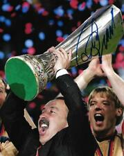 Valery Gazzaev CSKA Moscow Russia Football 2005 UEFA Cup Signed 8x10 Photo COA