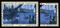 #1480-#1483 8c 1973 Boston Tea Pty EFO Major Color Shift Errors Block & Pair MNH