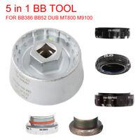 AG_ Durable 5 in 1 Bottom Bracket Cup Tool for BB9000 BBR60 DUB BSA30 FSA386