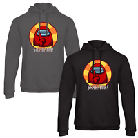 Among Us Imposter Adults Hoodie Jumper Fun Viral Youtube Mobile Game X-MAS Gift