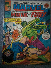 The Incredible Hulk and Fury  #270 dated 1977 - Marvel British Comic