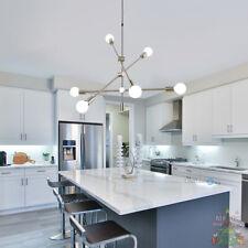 Sputnik Chandelier 6 Light Modern Pendant Lighting Ceiling Kitchen Home Fixtures