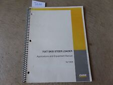 CASE Skid Steer Loader 75XT Operator's Manual (100 Pages)