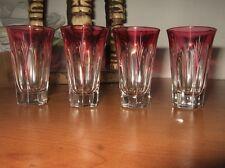 Très belle série de quatre Petit verre à alcool, italien des année 1950