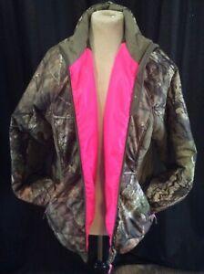 Mossy Oak Camo/pink Jacket 2XL