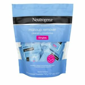 Neutrogena Makeup Remover Cleansing Towelette Singles, Daily Face Wipes, 1 Pack