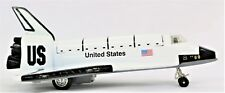 SPACE SHUTTLE MODEL | FRICTION TOY  PULL BACK ACTION | DIE-CAST 7.5 INCHES LONG